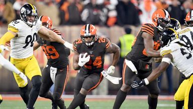 Steelers 7-21 Browns
