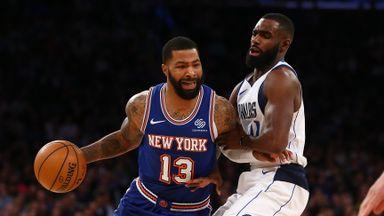 NBA Wk4: Mavericks 103-106 Knicks