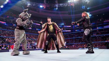 Baron Corbin mocks Roman Reigns
