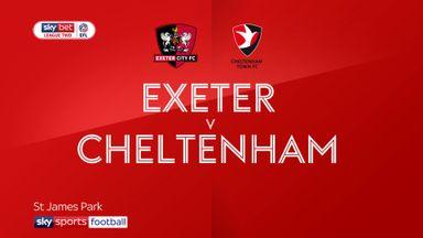 Exeter 0-0 Cheltenham