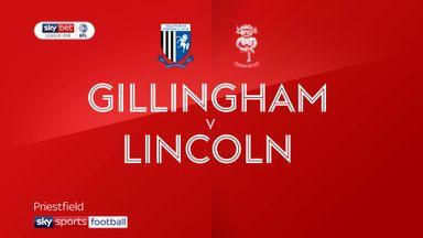 Gillingham 1-0 Lincoln