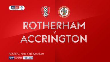 Rotherham 1-0 Accrington