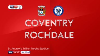Coventry 2-1 Rochdale