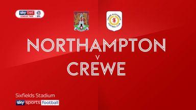 Northampton 4-1 Crewe