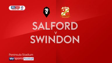 Salford 2-3 Swindon