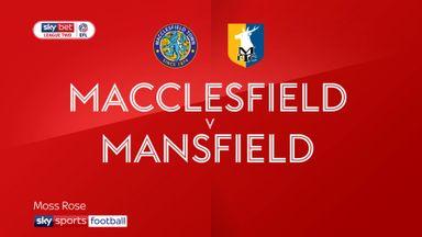 Macclesfield 0-0 Mansfield