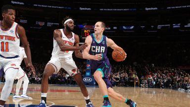 NBA Wk4: Hornets 103-102 Knicks