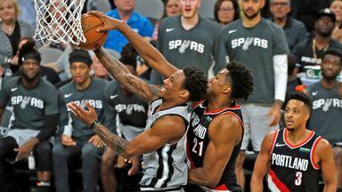 NBA Wk4: Trail Blazers 121-116 Spurs