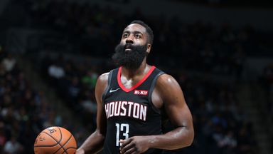 Harden drops 49 points for the Rockets