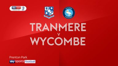 Tranmere 0-2 Wycombe