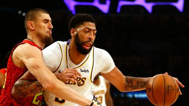 NBA Wk4: Hawks 101-122 Lakers