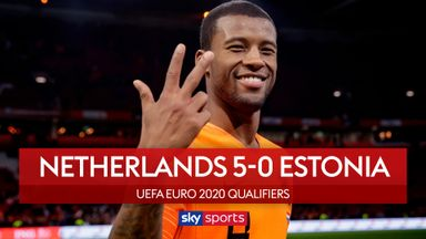 Netherlands 5-0 Estonia
