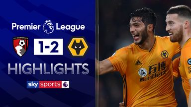 Wolves beat ten-man Bournemouth