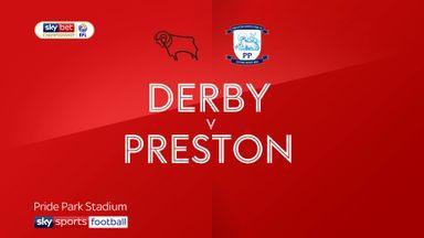 Derby 1-0 Preston