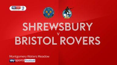 Shrewsbury 3-4 Bristol Rovers