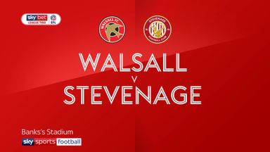 Walsall 0-0 Stevenage