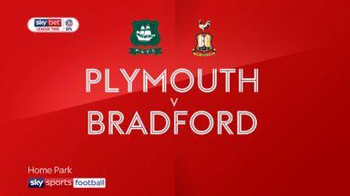 Plymouth 2-1 Bradford