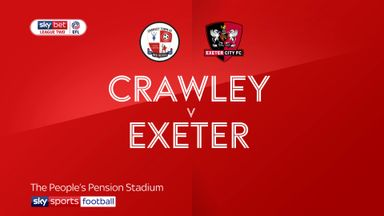 Crawley 0-1 Exeter