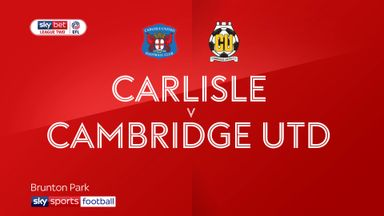 Carlisle 0-0 Cambridge