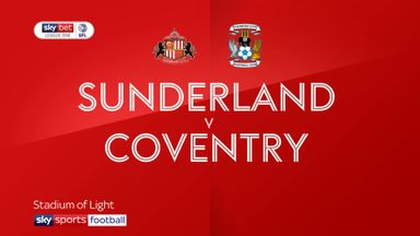 Sunderland 1-1 Coventry