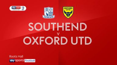 Southend 0-4 Oxford United