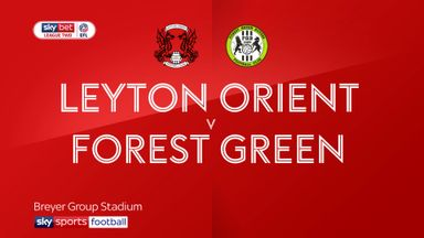 Leyton Orient 2-4 Forest Green