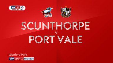 Scunthorpe 2-1 Port Vale