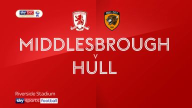 Middlesbrough 2-2 Hull