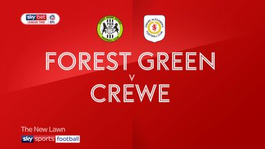 Forest Green 0-0 Crewe