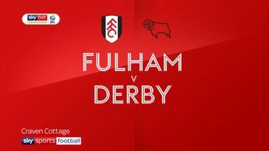 Fulham 3-0 Derby