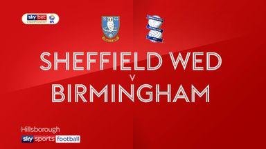 Sheff Wed 1-1 Birmingham