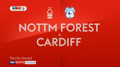 Nottingham Forest 0-1 Cardiff