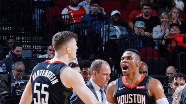 Westbrook drops triple-double in Rockets win