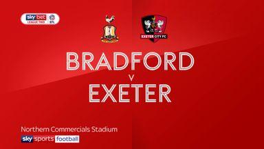 Bradford 2-0 Exeter