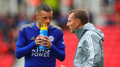 Rodgers tips Vardy for management