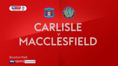 Carlisle 2-1 Macclesfield