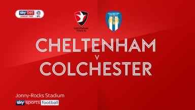 Cheltenham 1-1 Colchester