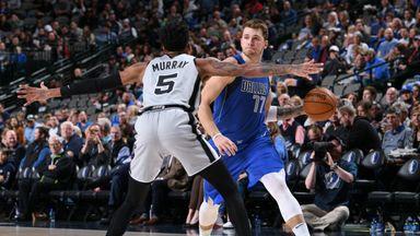 NBA Wk5: Spurs 110-117 Mavericks