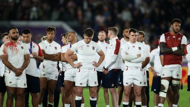 England react to 'heartbreaking' loss