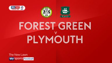 Forest Green 0-1 Plymouth