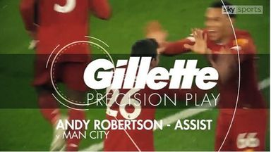 Gillette Precision Play: Robertson's assist
