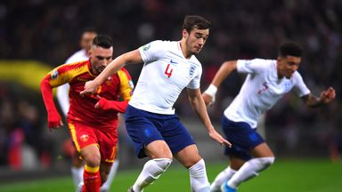 Winks battling for England midfield spot