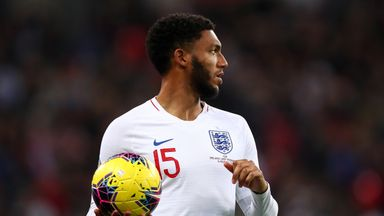 England players rally around Gomez