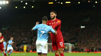 What happened between Sterling and Gomez?