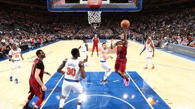 NBA Wk3: Cavaliers 108-87 Knicks