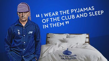 'I wear the pyjamas of my club!'