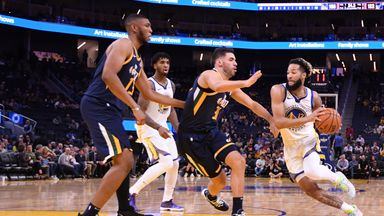 NBA Wk4: Jazz 122-108 Warriors