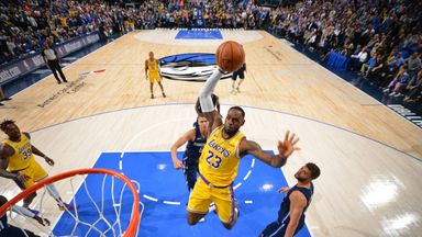 NBA Wk 2: Lakers 119-110 Mavericks (OT)
