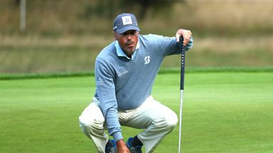 Kuchar 'not proud' of caddie row