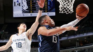 NBA Wk3: Mavericks 138-122 Grizzlies